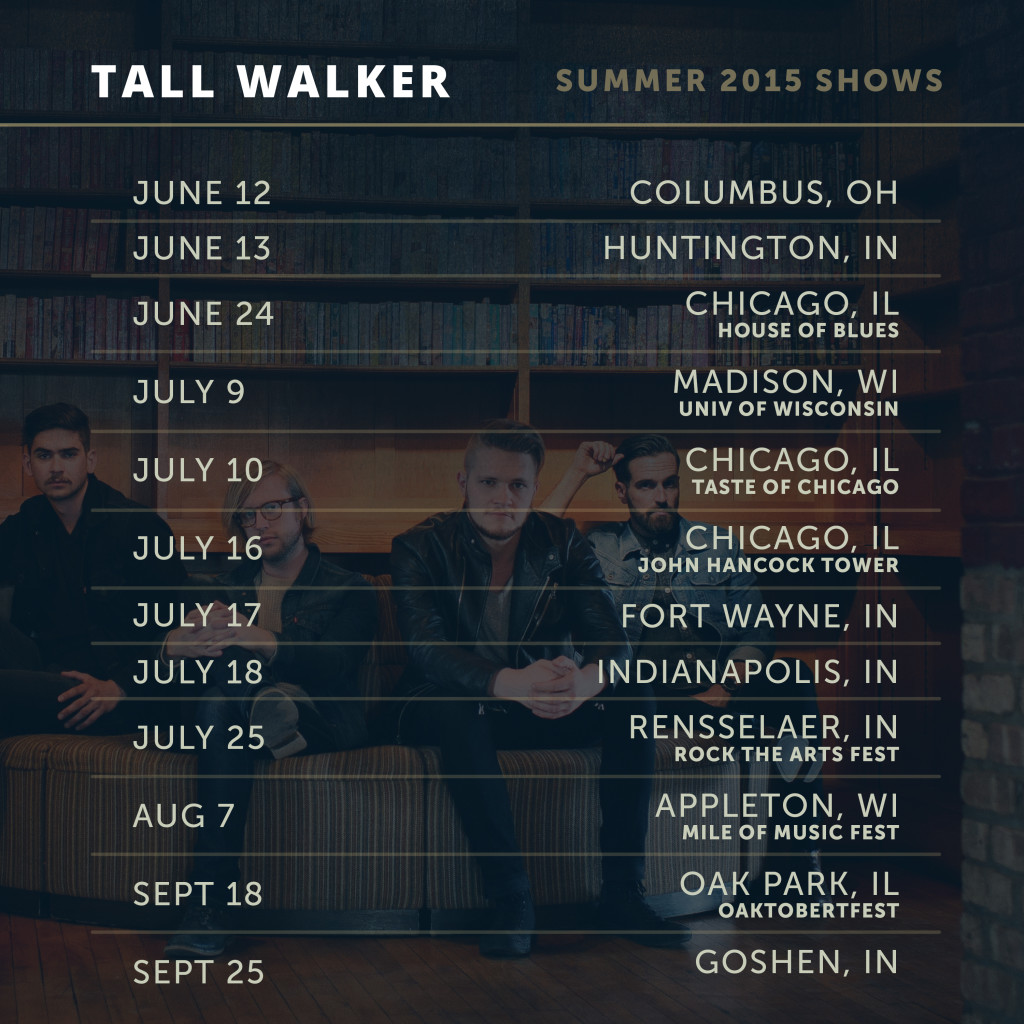 See Tall Walker this summer