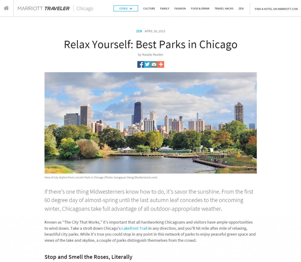 Marriott – Travel Blogs