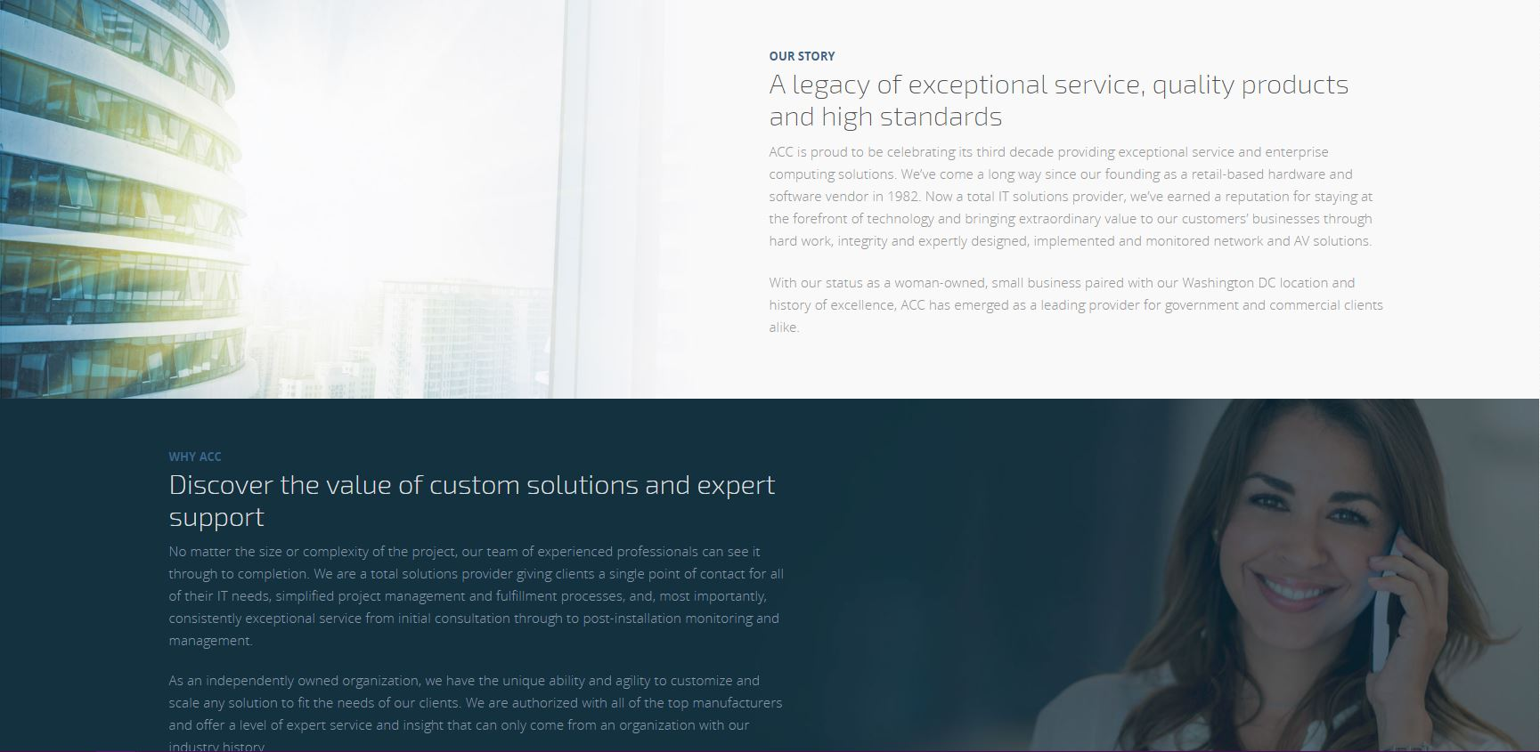 ACC Branding & Website
